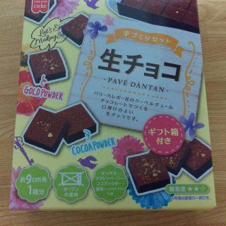 【生チョコ作成キット】美味しくて可愛いバレンタインチョコ作成!