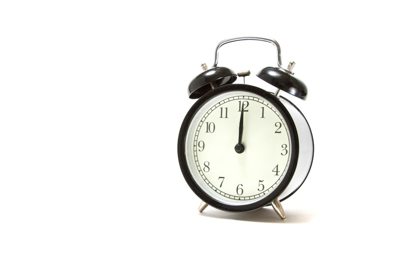 時間制限を測る時計