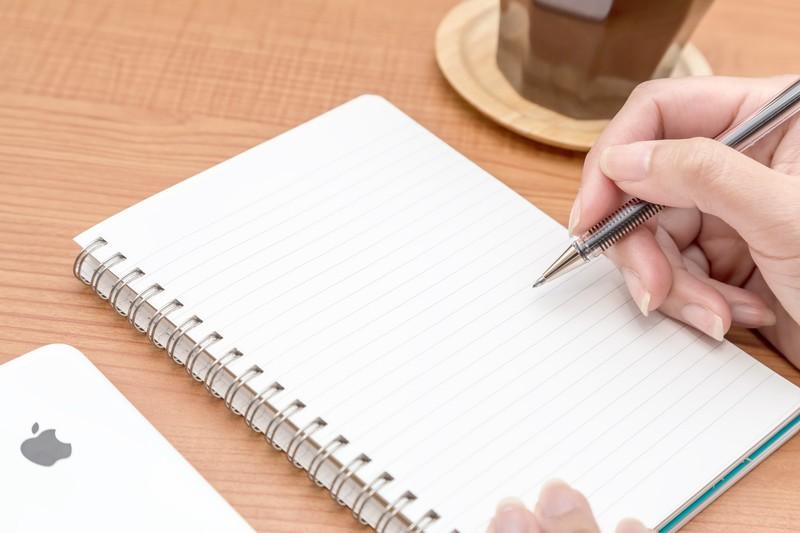 謝罪の文章を書く