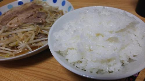 洗い米は美味しい